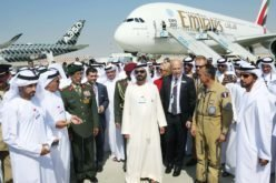 New Emirates A380 receives a royal visit