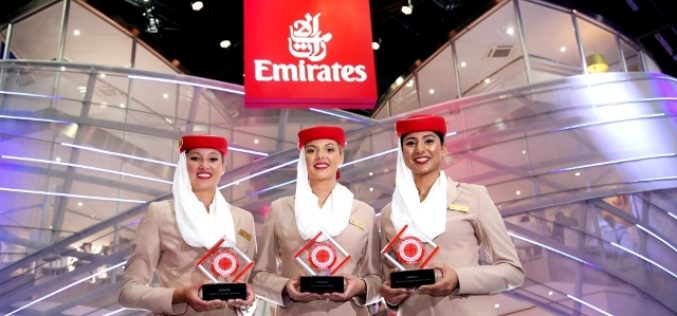 Emirates Scores three wins at the Business Traveller Middle East Awards 2016