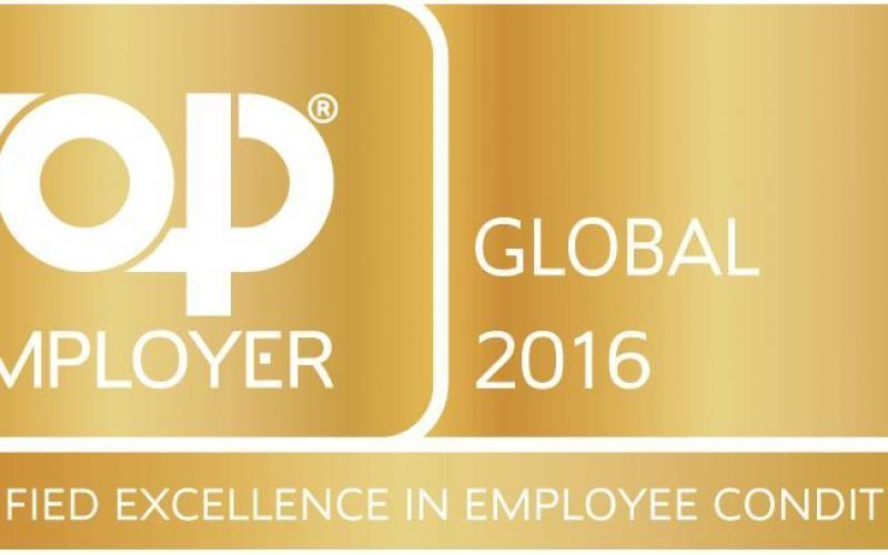 DHL certified as top employer global 2016