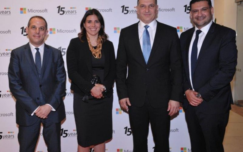 Microsoft celebrated its 15 years presence in the Cypriot market