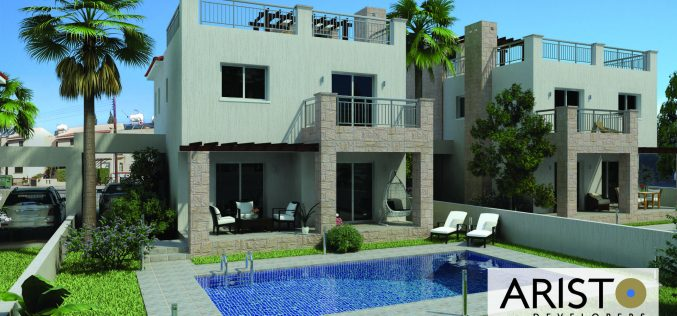 New residential complex by Aristo Developers in Pafos
