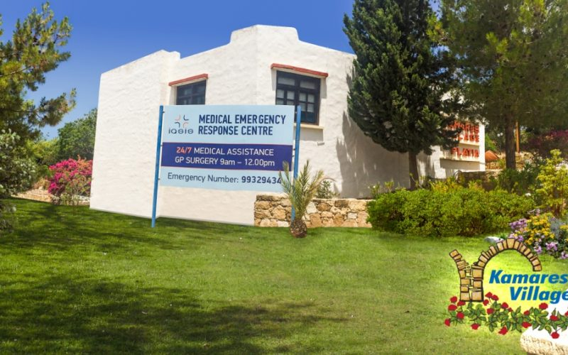 The IASIS medical centre at Leptos Kamares Village continues to save lives