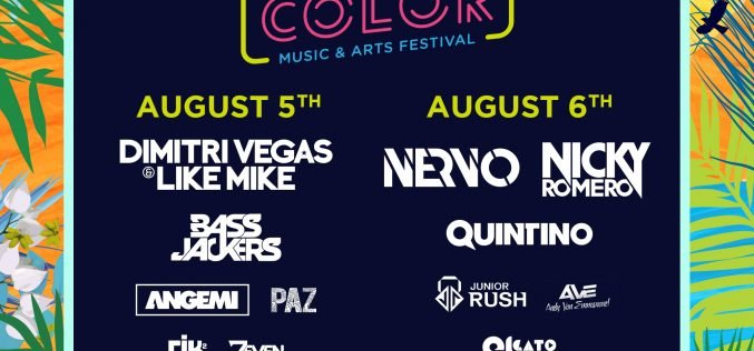 Ayia Napa gets ready to host the first Living Color Music &Arts Festival