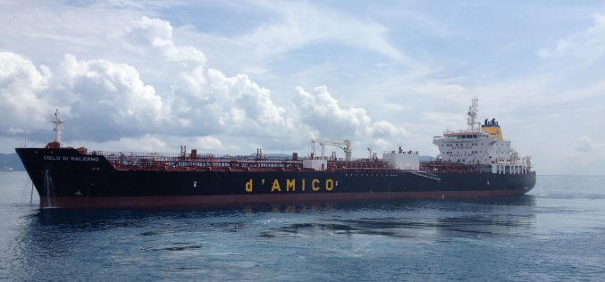 RINA verifies d'Amico as the first fleet to be entirely MRV-compliant