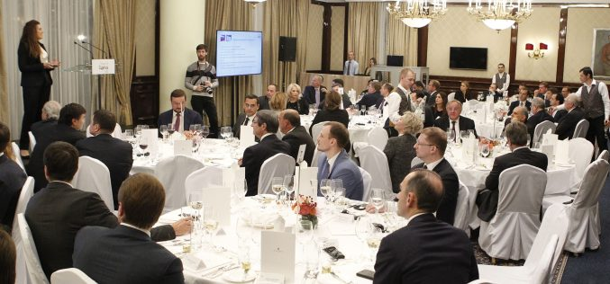 CIPA satisfaction over dinner with distinguished investors in Moscow