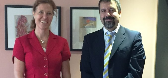 Visit of the Ambassador of the Kingdom of Netherlands to the University of Nicosia