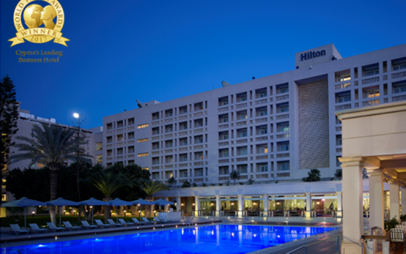 Hilton recognised as Cyprus's leading business hotel