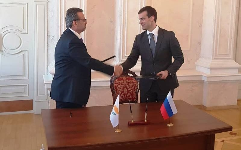 Cooperation between Invest Cyprus and Russia's Skolkovo Innovation Centre