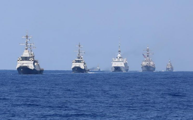 Cyprus participates in Israel's Mighty Waves 2019 naval exercise (video)