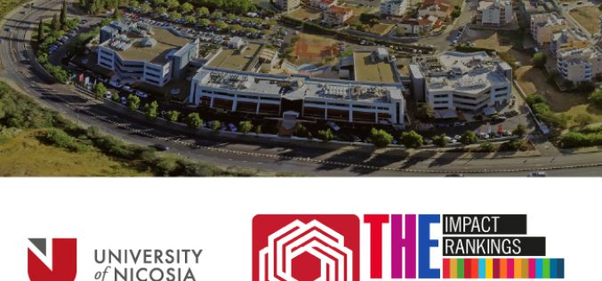 University of Nicosia recognised by Times Higher Education for its Quality Education and enduring Global Impact